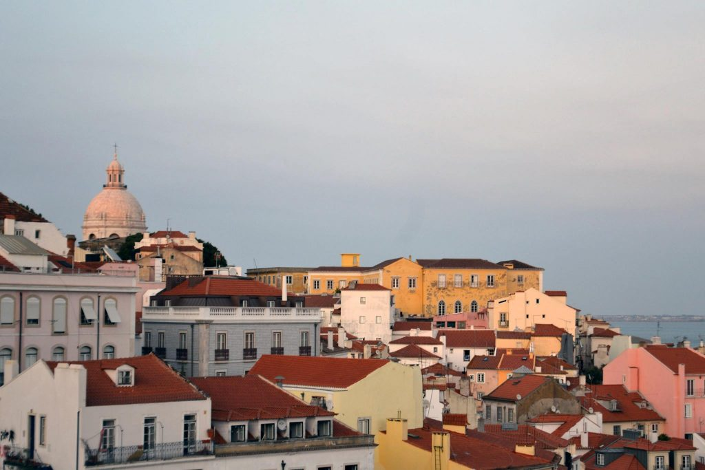 Lisbon at Dusk, sustainable travel photo