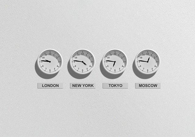 Time Zones, jet lag