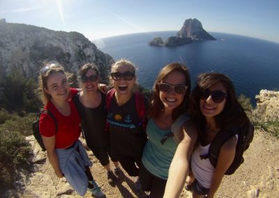 Hiking in Ibiza, Spain