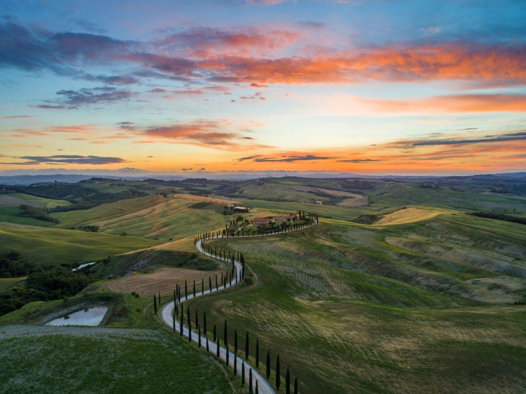 Via Francigena Italy pilgrimage Tuscany