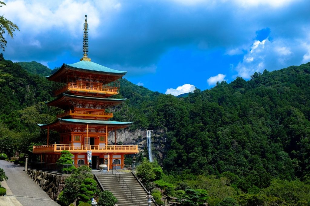 Kumano Kodo Japan pilgrimage temple