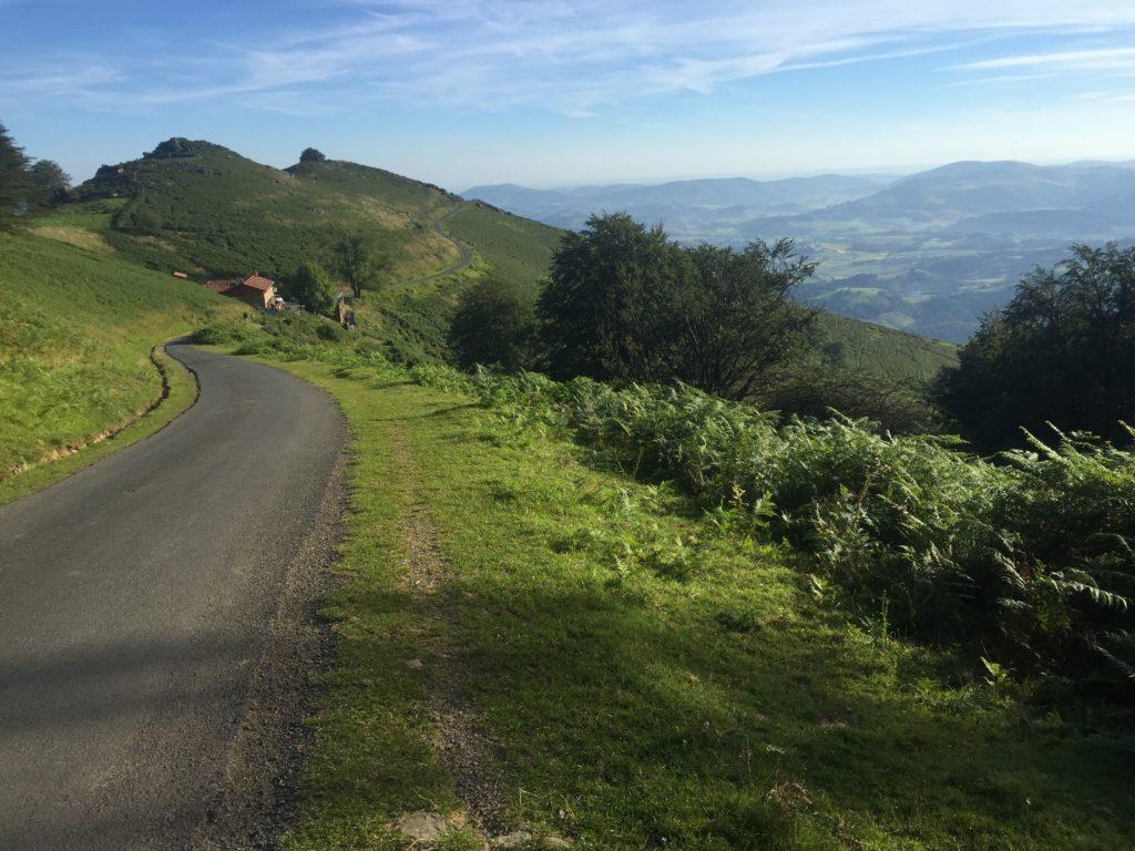 A path along the Camino de Santiago