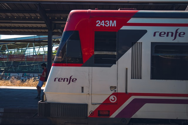 RENFE Train in Spain