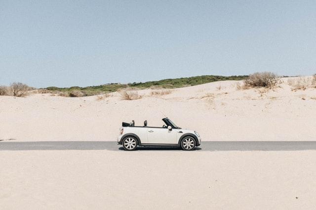 Mini Cooper in Spain