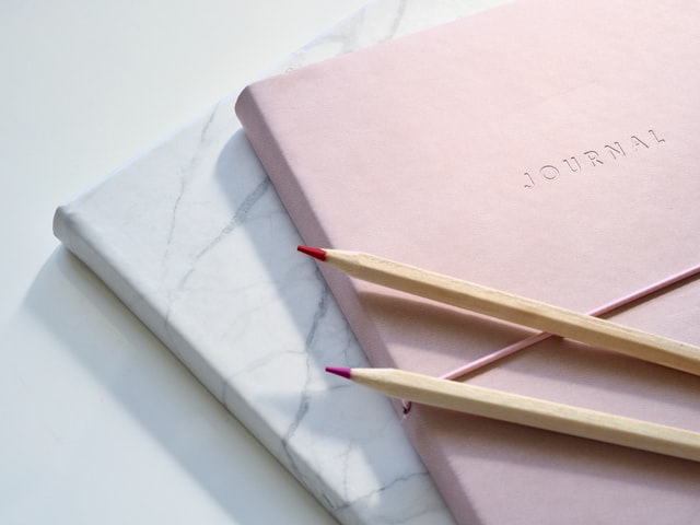 Journals for a daily journaling practice