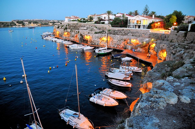 Enrich your travel experience - Menorca harbor