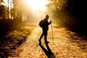 Walking modern-day pilgrimage